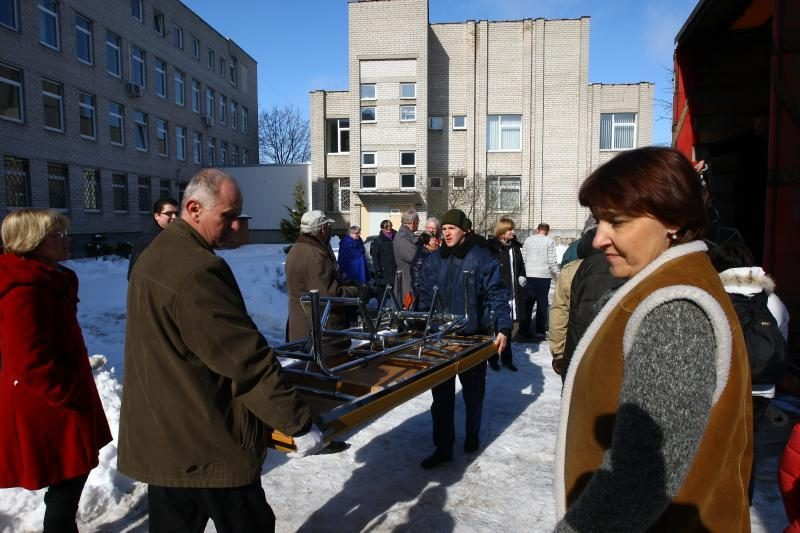 Kauno ligoninei – labdaros siunta iš Švedijos