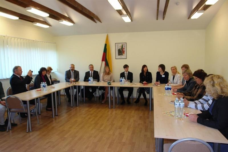 Klaipėdoje viešėjo Slovėnijos Konstitucinio teismo delegacija