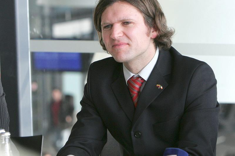 Kauno oro uostui vadovavęs A.Šliupas turi naują darbą