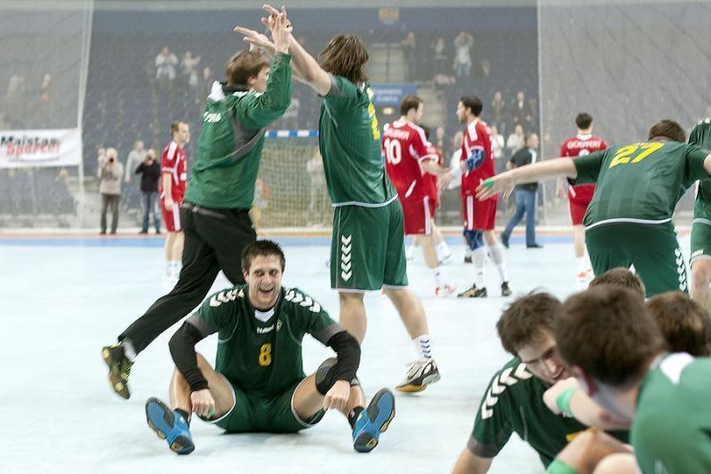 Lietuvos rankininkai išplėšė lygiąsias prieš šveicarus