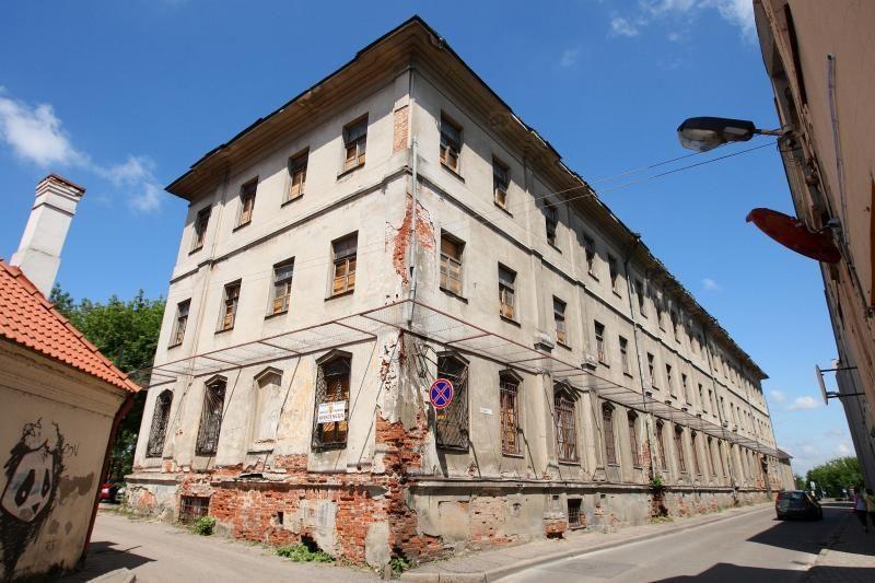 Buvusią žydų ligoninę planuojama paversti gydymo ir mokslo centru