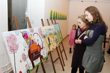 Mažoji Japonija apsigyveno Vilniaus mokytojų namuose