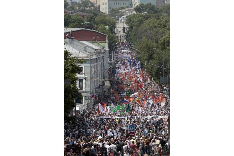 Prasidėjus protestams prieš V.Putiną išsijungė naujienų portalai