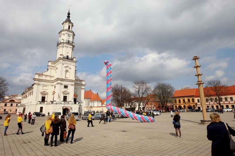 Kaune planuotas paminklas kultūrai neiškilo