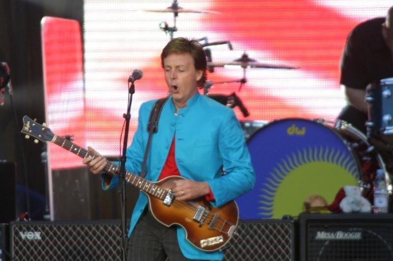 Paulas McCartney: roko patriarchas ir 70-ies nepraranda jėgos