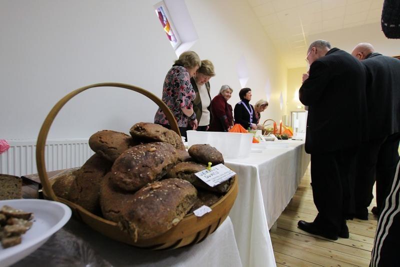 Melnragiškės mugėje pristatė savo patiekalus