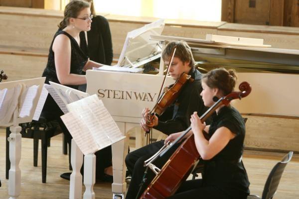 Menų fakultete – magistrančių iš Vilniaus koncertas
