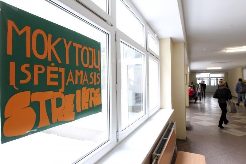Šiemet Lietuvoje surengta daugiausia įspėjamųjų streikų per 12 metų