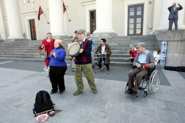 "Lietuvoje skamba ""Gatvės muzikos diena 2009"