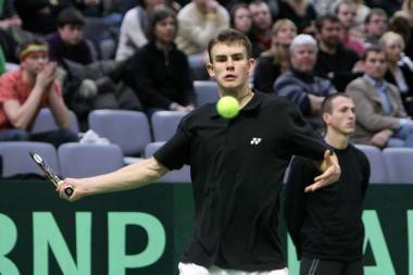 L.Grigeliui poroje su italu nepavyko patekti į Parmos turnyro finalą