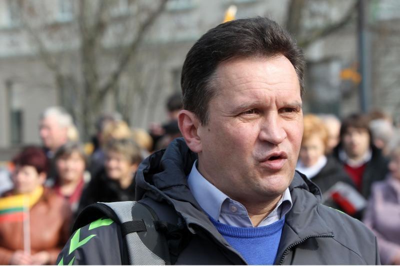 Lenkų mitingas sutraukė tūkstančius dalyvių