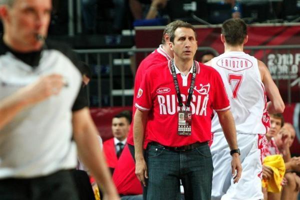 Rusijos rinktinės treneris giedojo JAV himną