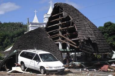 Per cunamį Indonezijos pietuose žuvo daugiau kaip 20 žmonių