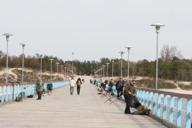 Palangos tiltą uždarys remontui