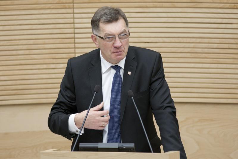 A. Butkevičius: savivaldybių socialinėms programoms numatytas nepakankamas finansavimas