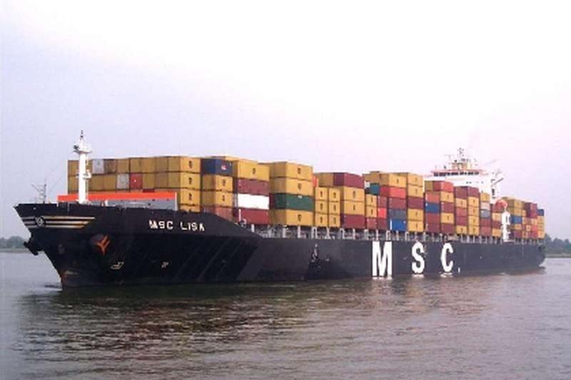 Antradienį Klaipėdos uoste švartuosis didžiulis konteinervežis