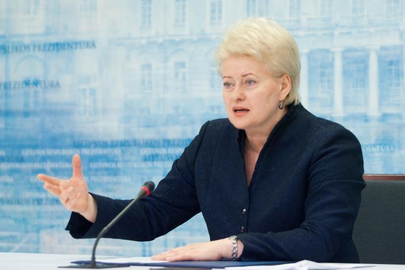 D.Grybauskaitė: Lietuva laikysis naujo ES fiskalinio pakto principų
