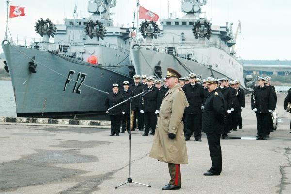 Paskirtas Karinių jūrų pajėgų vadas