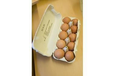 Sustabdyta nelegali prekyba kiaušiniais