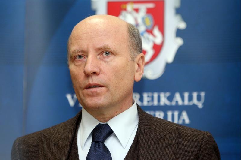 Ministras R.Palaitis - už pirmalaikius rinkimus