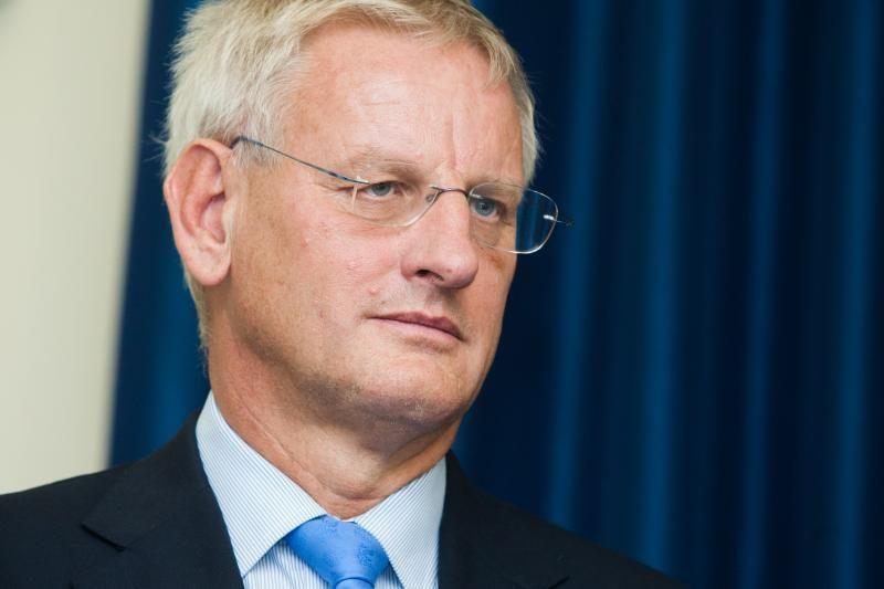 """C.Bildtas: Švedijos valdžia nesusijusi su """"meškiukų"""" akcija"""