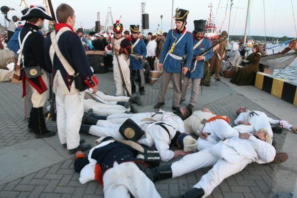 Laivų paradas: fiesta su trenksmais