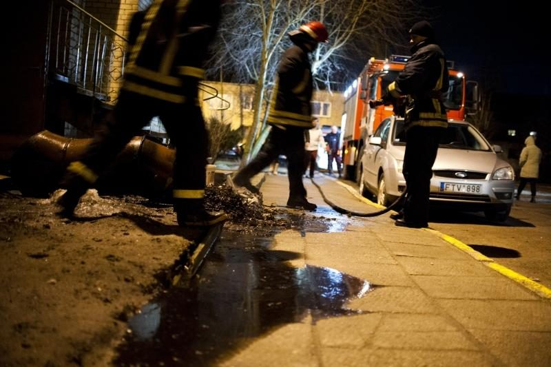 Dėl sprogimo Kaune ant kojų sukeltos spec. tarnybos