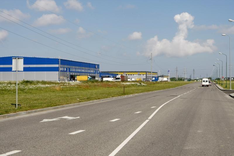 Klaipėdos LEZ savivaldybei perdavė Pramonės gatvės objektus