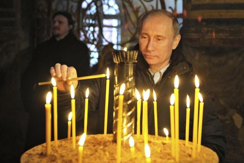 V.Putinas neatmeta galimybės, kad prireiks antro rinkimų turo