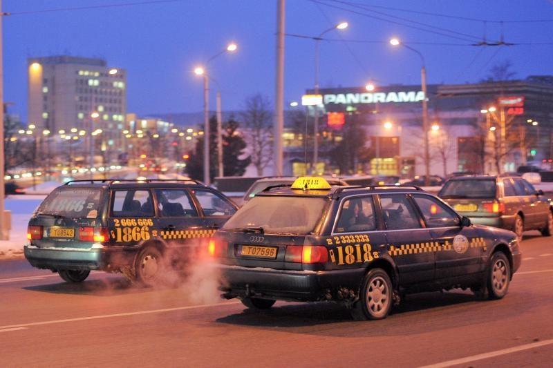 R.Bieliauskas apie kasos aparatus taksi: čia ne parduotuvė