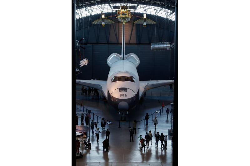"""Seniausias JAV erdvėlaivis """"Discovery"""" paskutinį kartą pakilo į orą"""