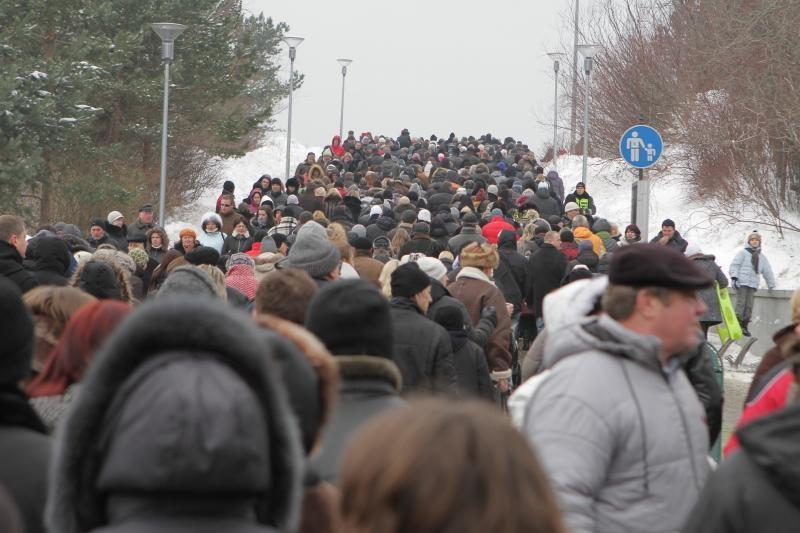 """""""Palangos stinta"""": spūstys prie miesto prieigų dėl žuvelės už 2 litus"""