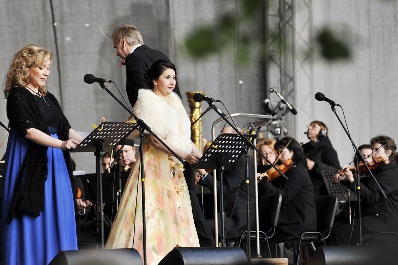 Pažaislio muzikos festivaliui – nušvitęs dangus
