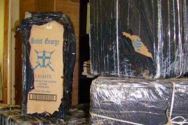 Pasieniečiams įkliuvo kontrabandą vežęs klaipėdietis