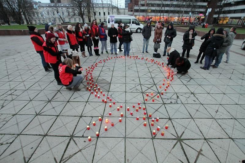 Klaipėdiečius kvietė nemokamai išsitirti dėl ŽIV