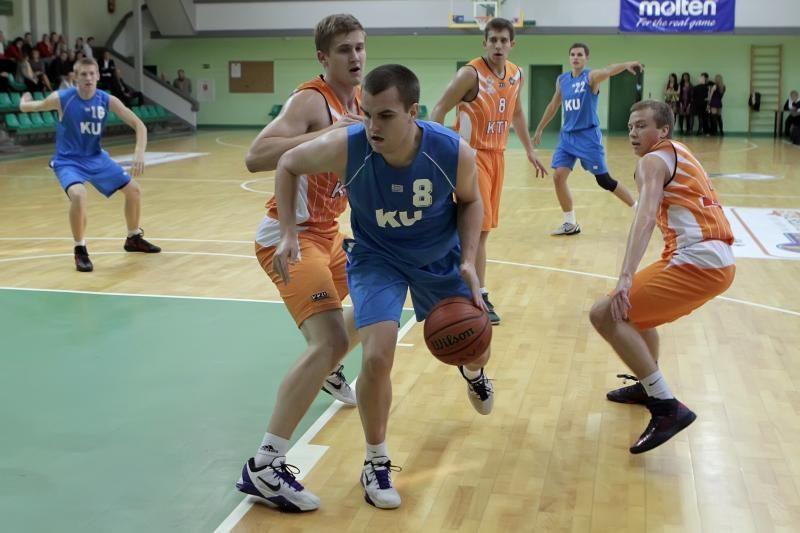 Klaipėdos universiteto krepšininkai startavo pergale