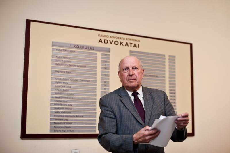Kauno advokatų kontora sukilo prieš valdžią