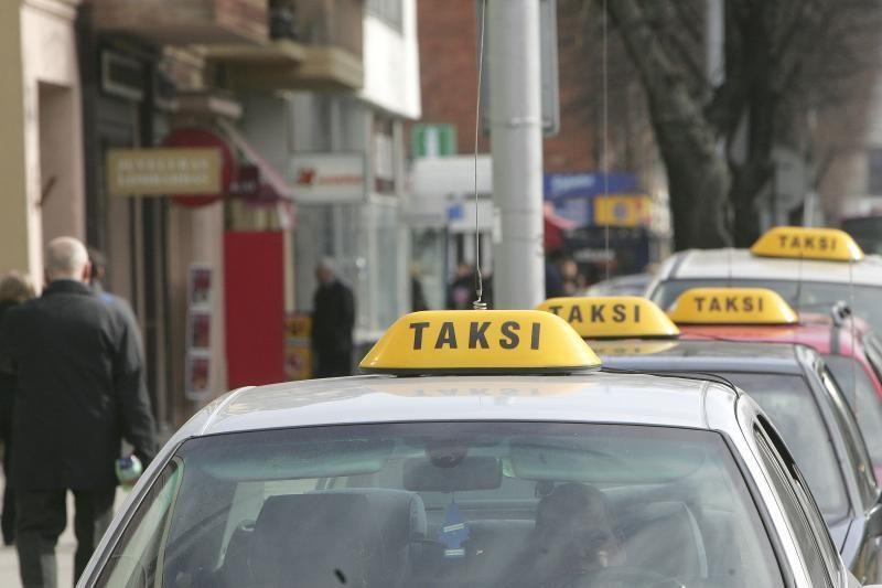 Vilniaus rajone apiplėštas taksi vairuotojas