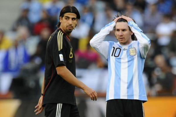 Ketvirtfinalis: Vokietija sutriuškino Argentiną 0:4 (papildyta)