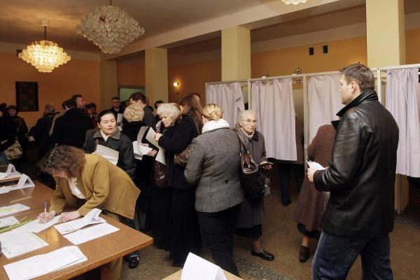 Rinkėjų aktyvumas Vilniuje iki 19 valandos