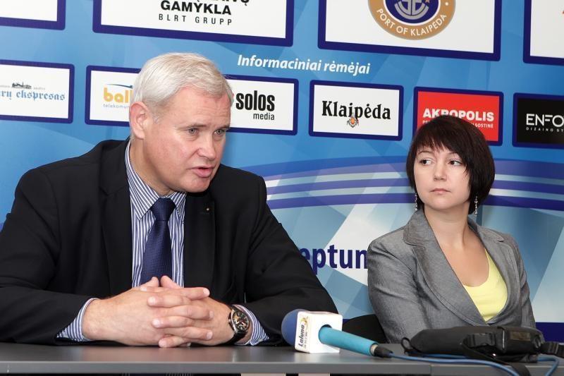 """Klaipėdos arena ir """"Neptūnas"""" pasirašė sutartį"""