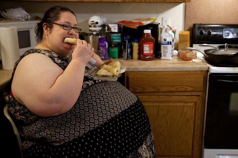 Sunkiausia pasaulyje mama nusprendė laikytis dietos