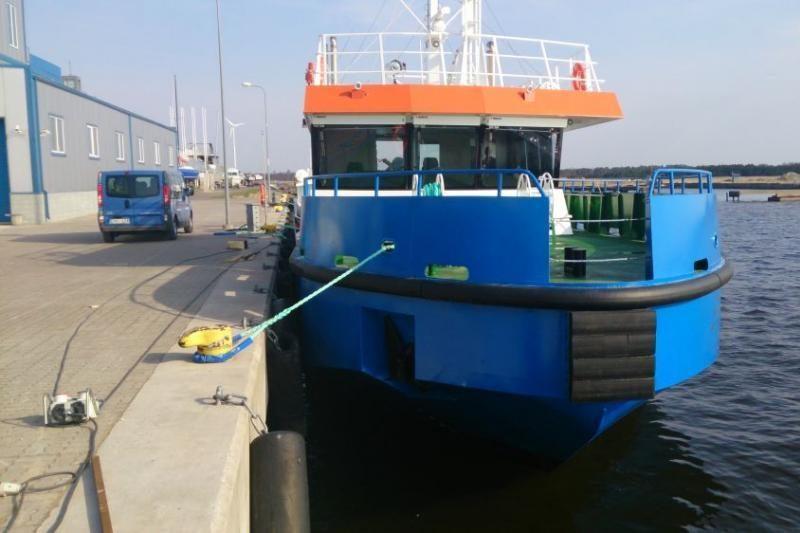 Klaipėdos uostas jau turi naują hidrografinį laivą