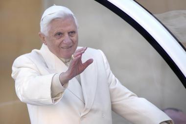 Popiežius: žmonija nėra atsitiktinis evoliucijos produktas