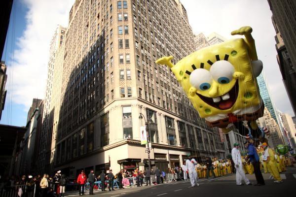 Padėkos dieną Niujorką papuošė įspūdingas paradas