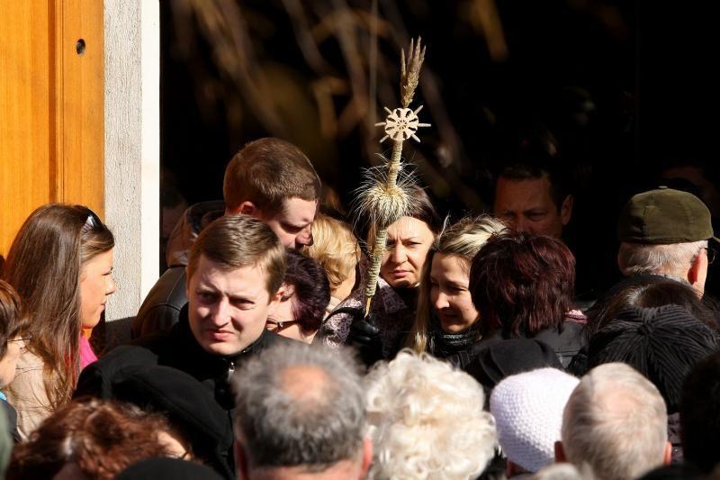 Verbų sekmadienis į senamiestį pritraukė minias kauniečių
