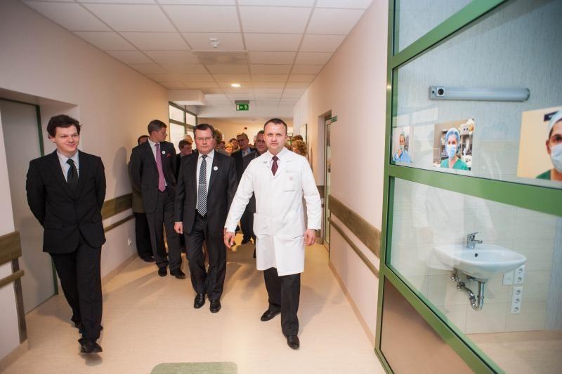 Kauno ligoninėje – milijoninės vertės operacinių skyrius
