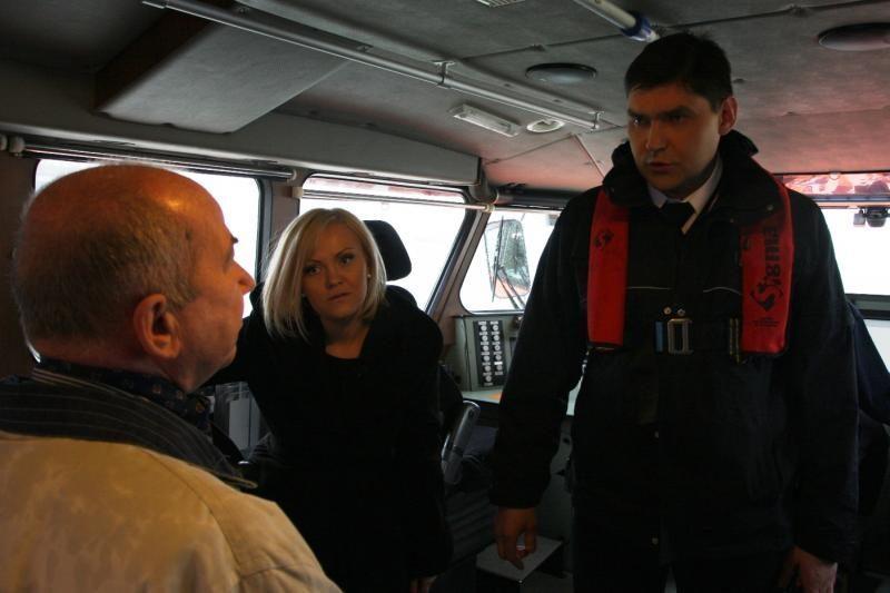 """Laidoje """"Lietuva – jūrinė valstybė"""" – ekstremali uosto kasdienybė"""