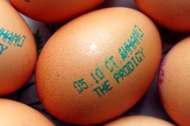 """""""The Prodigy"""" koncertą Baltarusijoje reklamuoja kiaušiniai (audio)"""