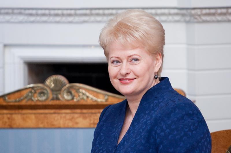 Prezidentė D.Grybauskaitė ketina vykti į Katarą, Ukrainą